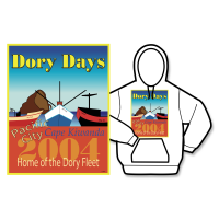 2004 Dory Days Poster Hoodie