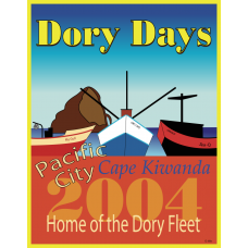 2004 Dory Days Poster