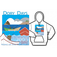 2005 Dory Days Poster Hoodie