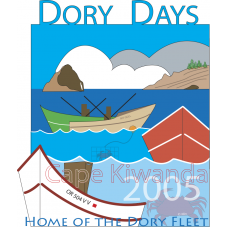 2005 Dory Days Poster