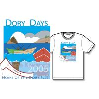 2005 Dory Days Poster Tee Shirt
