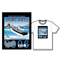 2006 Dory Days Poster Tee Shirt