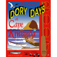 2007 Dory Days Poster