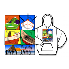 2008 Dory Days Poster Hoodie