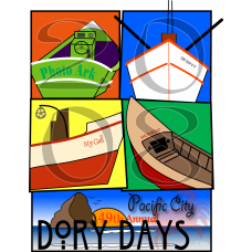 2008 Dory Days Poster