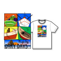 2008 Dory Days Poster Tee Shirt