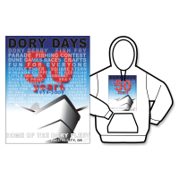 2009 Dory Days Poster Hoodie