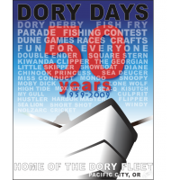 2009 Dory Days Poster
