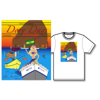 2010 Dory Days Poster Tee Shirt