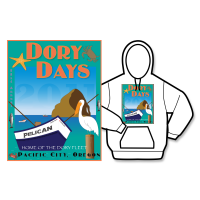 2011 Dory Days Poster Hoodie