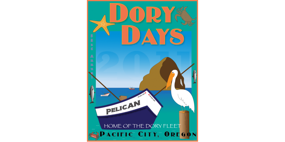 2011 Dory Days Poster