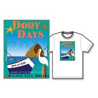 2011 Dory Days Poster Tee Shirt