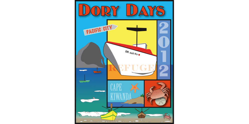 2012 Dory Days Poster