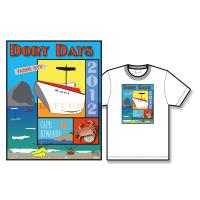 2012 Dory Days Poster Tee Shirt