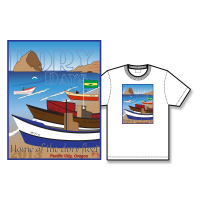 2013 Dory Days Poster Tee Shirt