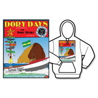2016 Dory Days Poster Hoodie