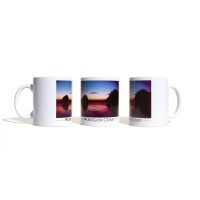 The Oregon Coast Mug -Pacific City - Haystack Rock and Cape Kiwanda - by Rod Whaley