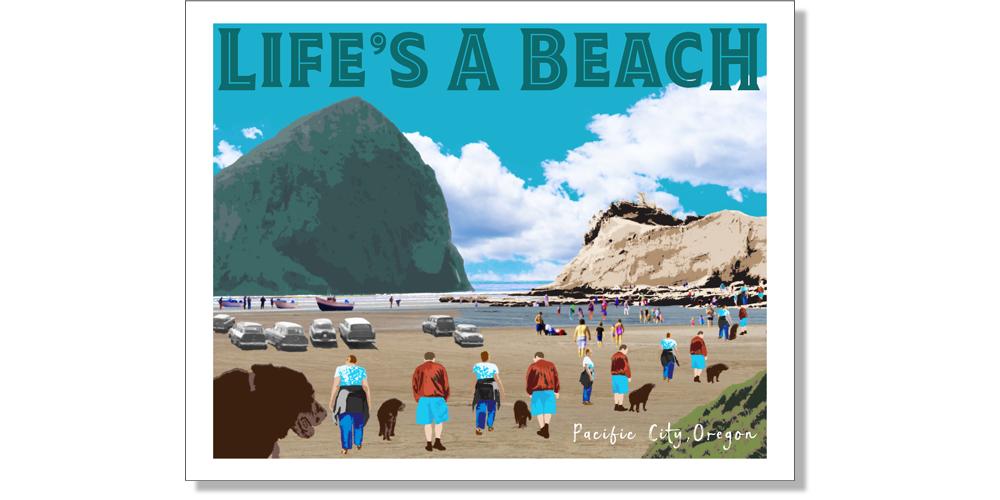Life's A Beach - The Oregon Coast