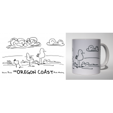 Shore Birds No.1 Mug by Rod Whaley