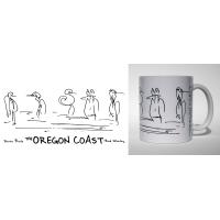 Shore Birds No.4 Mug by Rod Whaley
