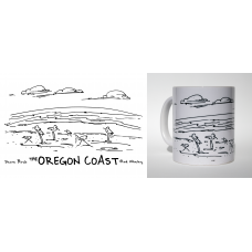 Shore Birds No.7 Mug by Rod Whaley