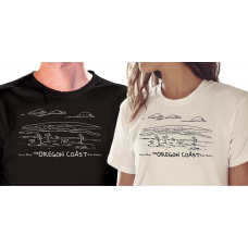 Shore Birds No.7 T-Shirt by Rod Whaley