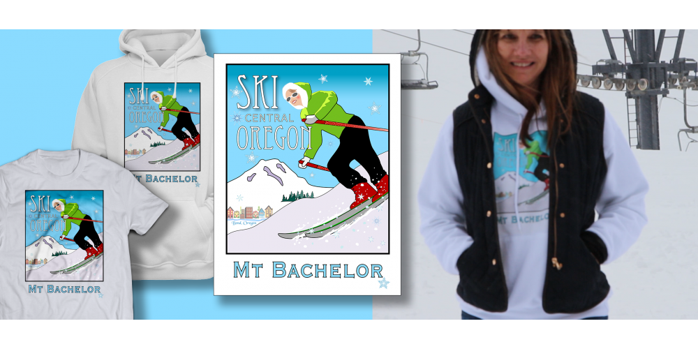 Ski Mt. Bachelor - by Miles
