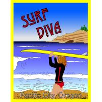 Surf Diva Poster