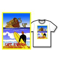 Surf's Up Poster Tee Shirt