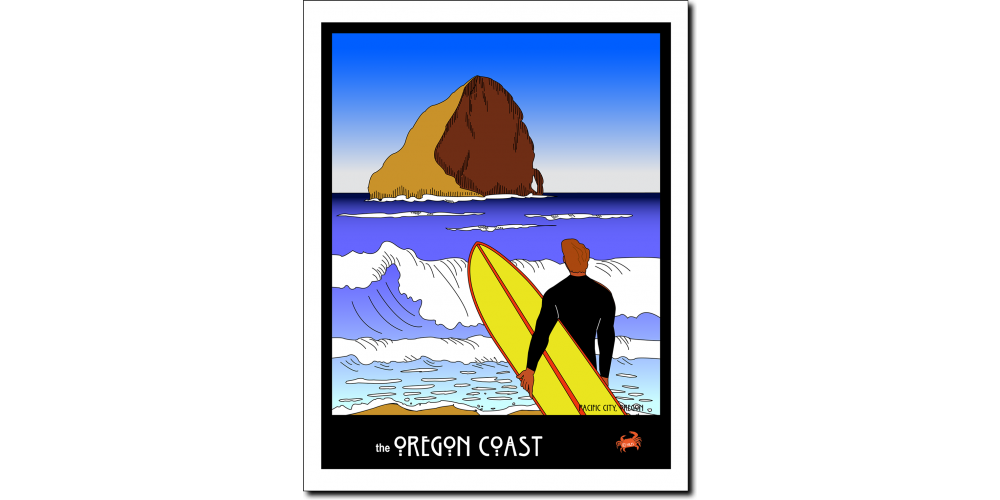 Oregon Coast Surf Dude- by Miles