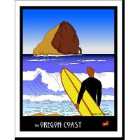 Oregon Coast Surf Dude- by Miles