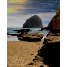 Cape Kiwanda and Haystack Rock - No.0047
