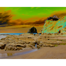Cape Kiwanda and Haystack Rock - No.9742