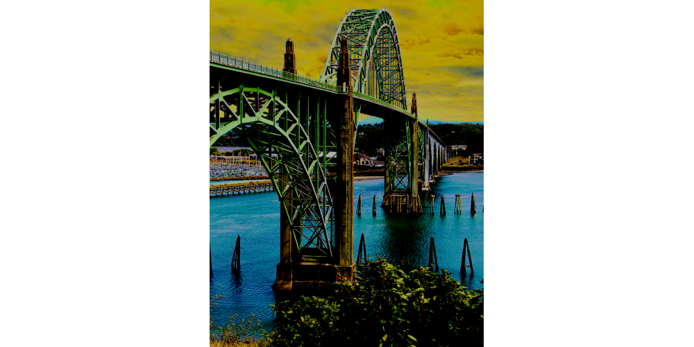Yaquina Bay Bridge - No. 9995