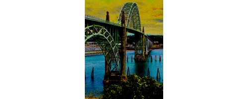 Yaquina Bay Bridge - No. 9995